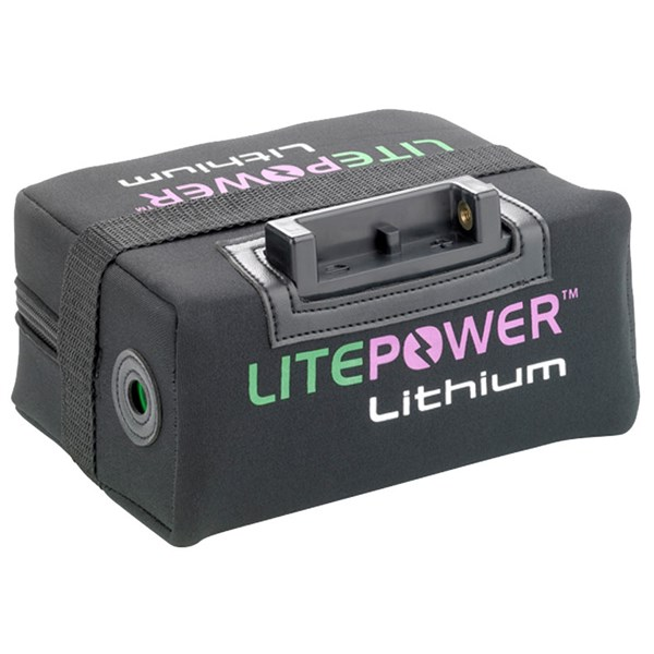 LitePower 15Ah Standard 18 Hole Lithium Battery & Charger