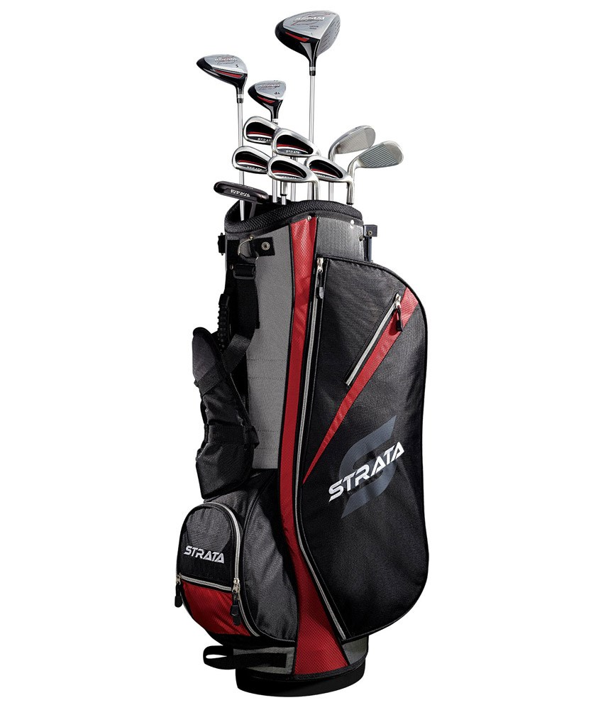 callaway strata 16 piece package set graphite shaft golfonline. Black Bedroom Furniture Sets. Home Design Ideas