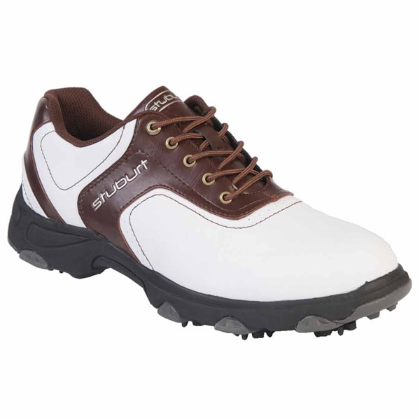 Stuburt Mens Comfort XP Golf Shoes (White/Bomber)