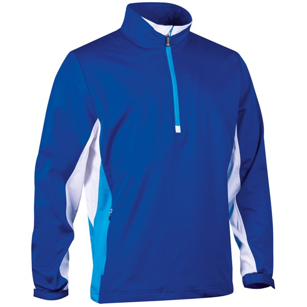 Sunderland Mens Colorado Colour Block Zip Neck Windshirt