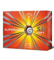 Callaway Superhot 55 Soft Golf Balls  12 Balls