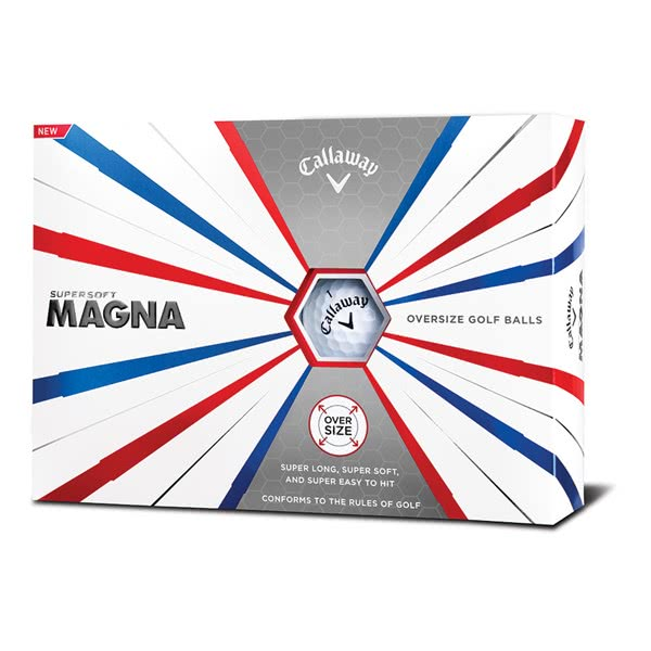 Callaway Supersoft Magna Golf Balls (12 Balls) 2019