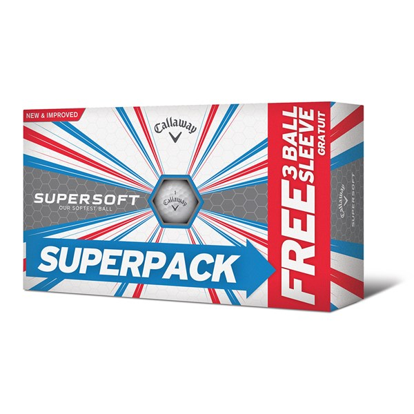 Callaway Supersoft Golf Balls (15 Balls)