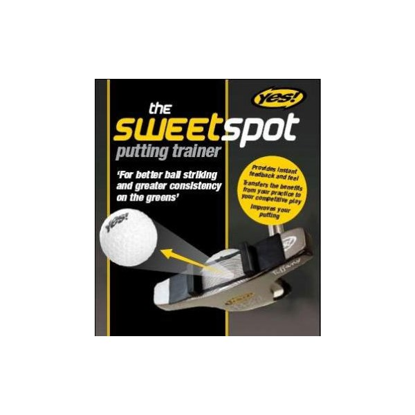 Yes Golf Sweet Spot Putting Trainer
