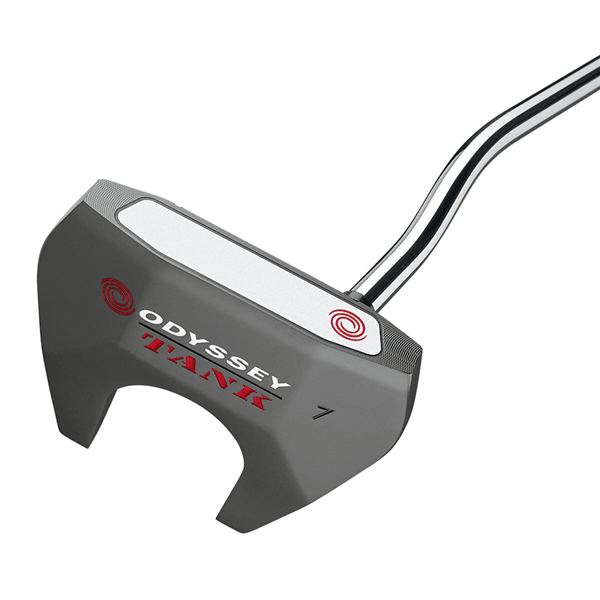 The Odyssey Tank range has been extended and the inclusion of the Tank 2-Ball makes the world's best selling putter even more popular. Tank technology uses Counterbalance Weight Stability which gives you a heavier than standard head with a heavier shaft to keep your hands quieter through your putting stroke.