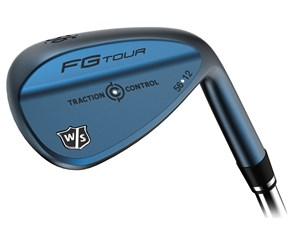 Wilson Staff FG Tour Traction Control Gun Blue Wedge