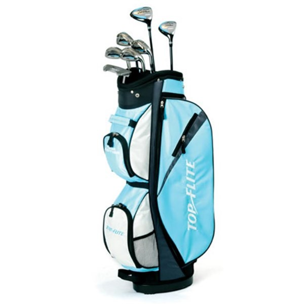 Topflite Ladies Tour Edition 11 Piece Half Golf Package (Graphite Shaft) 2012