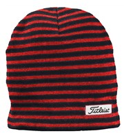 Titleist Mens Striped Fitted Beanie