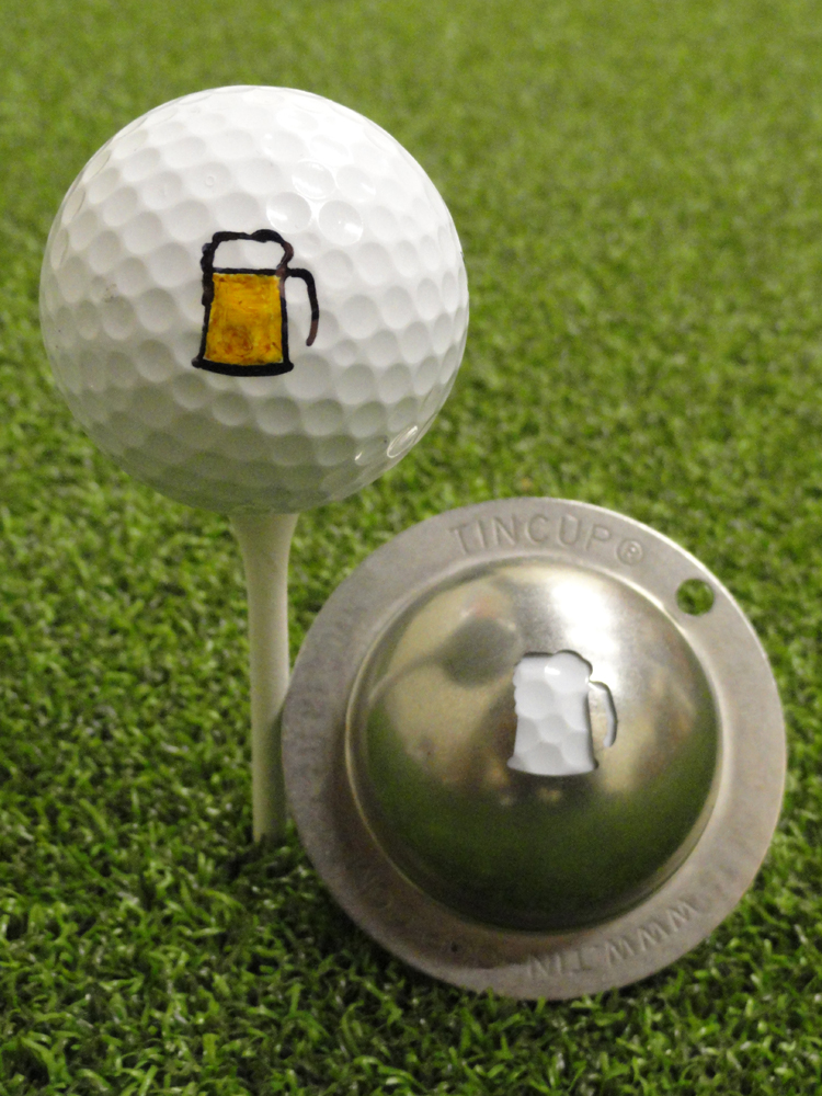 Tin Cup Ball Marker 19th Hole Golfonline