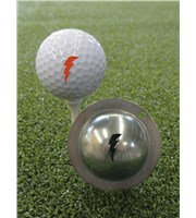 Tin Cup Ball Marker - Bolt