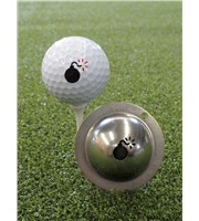 Tin Cup Ball Marker - Bombs Away