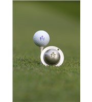 Tin Cup Ball Marker - Divine Intervention