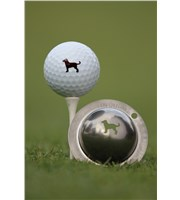 Tin Cup Ball Marker - Dulin