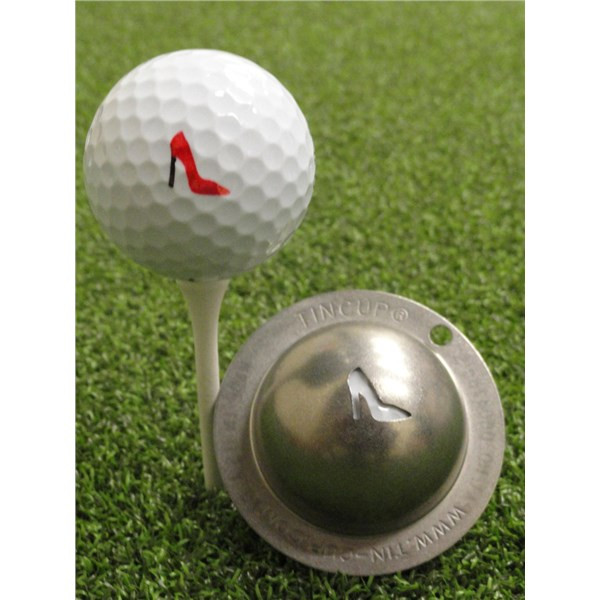 Tin Cup Ball Marker - Gimme Choo