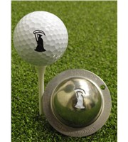 Tin Cup Ball Marker - Grim Reaper