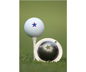 Tin Cup Ball Marker - Lone Star