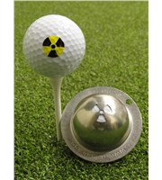 Tin Cup Ball Marker - Radioactive