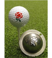 Tin Cup Ball Marker - Rose