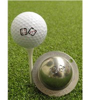 Tin Cup Ball Marker - True Roll