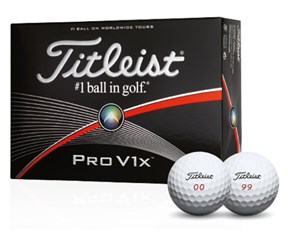 Titleist Pro V1x Double Digit Golf Balls 2015  12 Balls