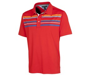 Tommy Hilfiger Mens Nate Lake Chest Stripe Polo Shirt 2015