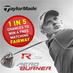 Chance to win a FREE matching TaylorMade Fairway Wood