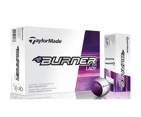 TaylorMade Ladies Burner Golf Balls 2015  12 Balls