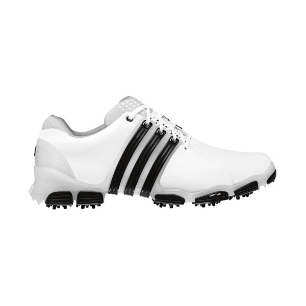 adidas Tour 360 4.0 Golf Shoes WhiteWhiteBlack