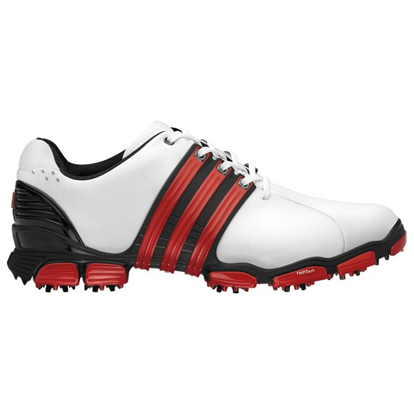 adidas Tour 360 4.0 Golf Shoes (WhiteBlackRed) Golfonline