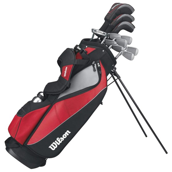 Wilson Tour Matrix Complete Golf Package Set (Steel/Graphite) 2013