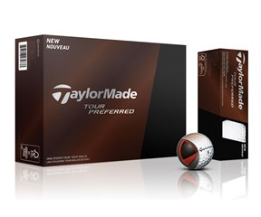 TaylorMade Tour Preferred Golf Balls 2015  12 Balls