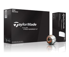 TaylorMade Tour Preferred X Golf Balls 2015  12 Balls
