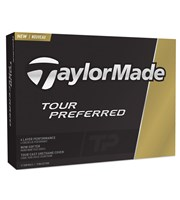 TaylorMade Tour Preferred Golf Balls - Personalised Buy 3 Get 1 Free  12 Balls