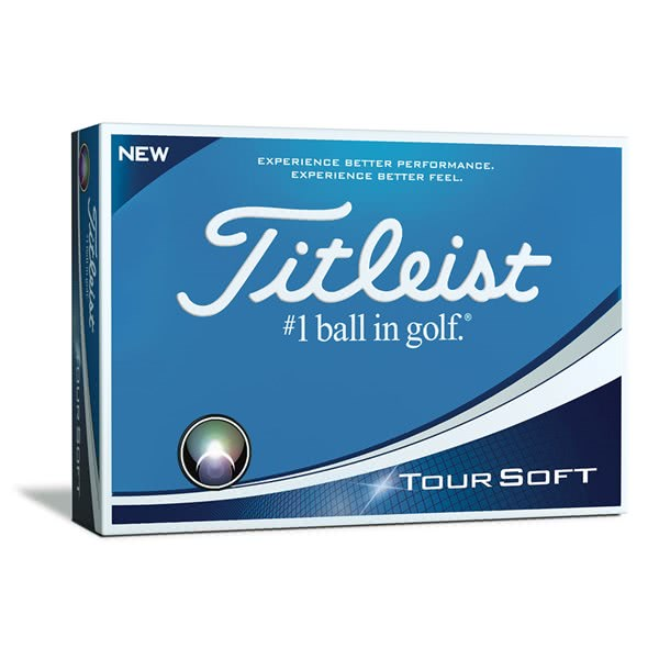 Titleist Tour Soft Golf Balls (12 Balls)