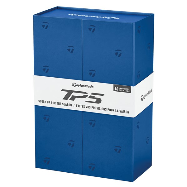 TaylorMade TP5 Non-Personalised Golf Balls (Gift Pack) - 4 For 3 Promotion