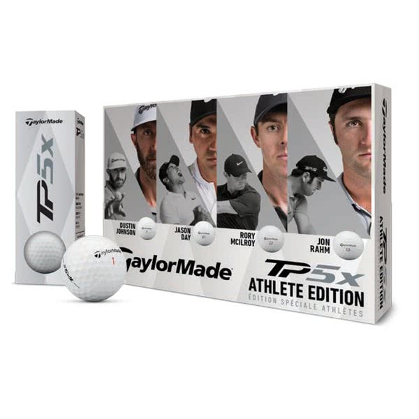 TaylorMade TP5 X Golf Balls (12 Balls) - Athlete Edition