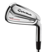 TaylorMade Tour Preferred MC Irons - Demo Product  Steel Shaft