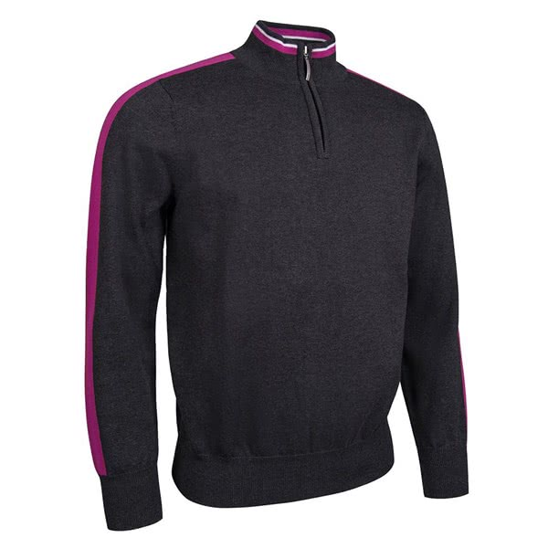 Glenmuir Mens Troon Zip Neck Sweater