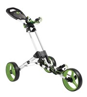 iCart One 3 Wheel One Click Push Trolley