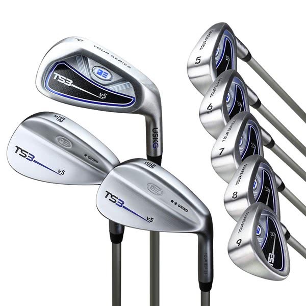 US Kids Tour Series Inch 8-Clubs Iron Set (Graphite Shaft)