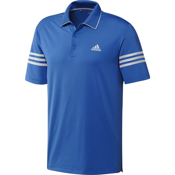 adidas Mens Ultimate Blocked Climacool Polo Shirt