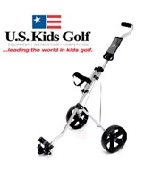 US Kids Easy Walk Two Wheel Junior Trolley