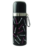 Scattered Tees Vacuum Flask with Carabiner