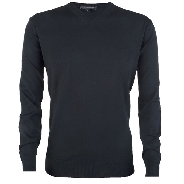 Greg Norman Mens V Neck Merino Blend Sweater
