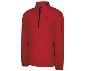 Adidas Mens ClimaProof Wind Half Zip Jacket