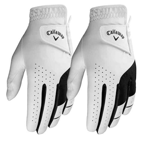 Callaway Mens Weather Spann Golf Glove (2 Pack) 2019