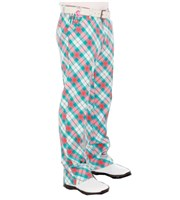 Royal And Awesome Well Plaid Golf Trouser