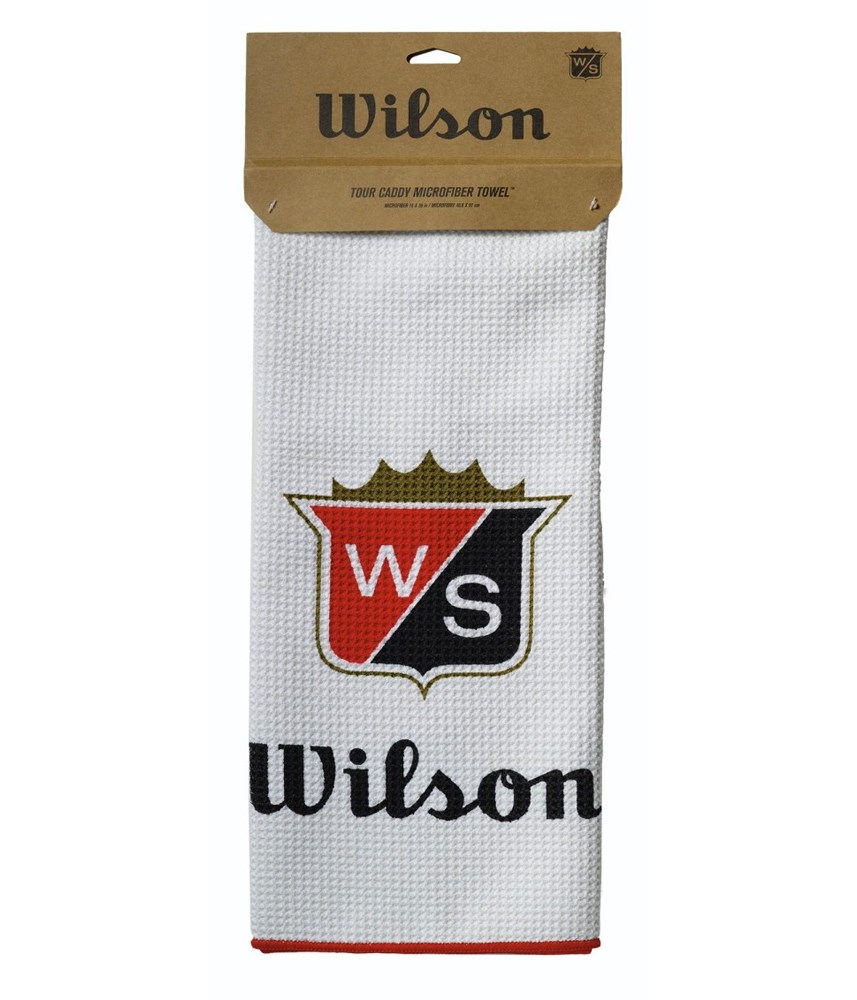 Wilson Limited Edition Centennial Microfiber Caddy Towel Golfonline Golf Standard Double Tap To Zoom