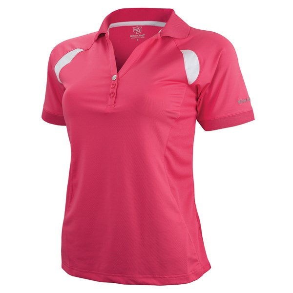 Wilson Staff Ladies Performance Golf Polo Shirt