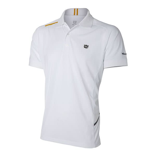 Wilson Staff Mens FG Tour Performance Polo Shirt 2018